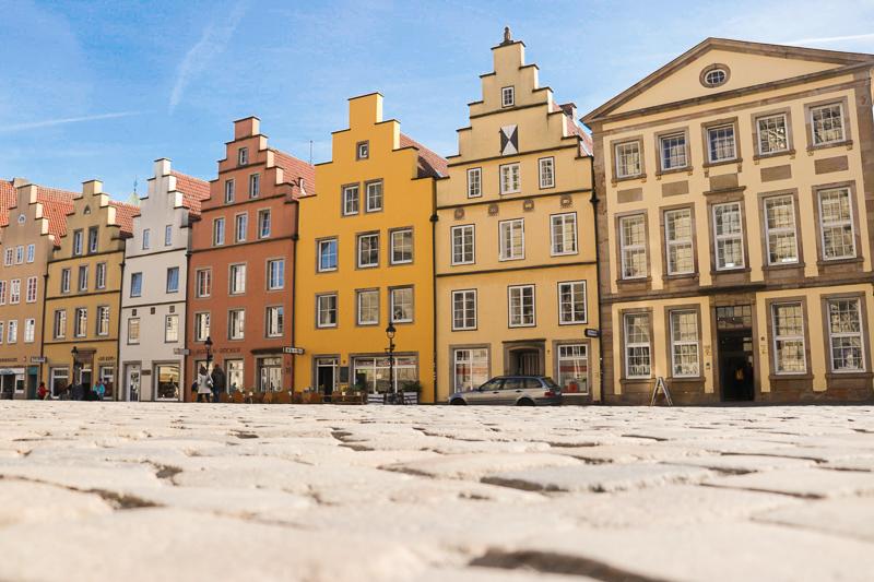 Trattoria in historischer Kulisse - Die berühmten Treppengibel