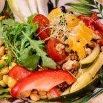 Lorenzo Grani: Bunter Salat mit Bio-Lupinen
